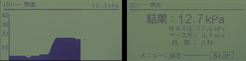 測定結果イメージ